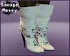 Poetic Cream Boots