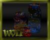 {LW}Wolf FireFlies Jars