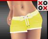 Baby Shorts Yellow