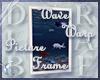 Wave Warp Picture Frame