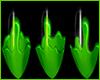 Slimer Nails