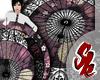 Ornate Umbrella [Plum]