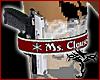 [T] Ms Clause Gun Garter