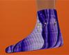 Halloween Swirl Sock 9 F