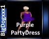 [BD]PurplePartyDress
