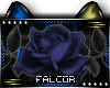Z|Blue Rose Sticker-