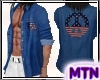 M1 USA Peace Blue Jean