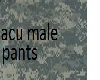 acu male pants