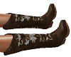 TF* Brown Cowgirl Boots