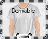 KIDS Shirt Derivable