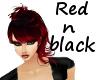 KP red n black side swoo
