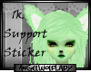 [A] 1k Support Sticker