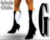Guci Black & white Boots