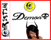 ~C~ Demon Head Sign 1
