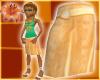 Beach Skirt Creamsicle