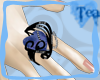{Tea}Blue Heart Ring