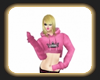 Caz pink hoodie