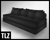 [TLZ]Black Long Sofa