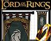 LOTR Rohan wall Banner 3