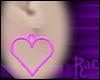 R: Pink Heart Earrings