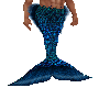 Blue Merman Tail