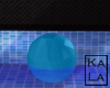 !A Floating Ball blue