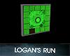 Life Clock Tracker Green