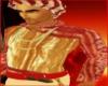 DWC!Red Bandhani Kurta