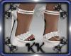 KK Posh Heels White