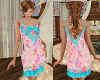 TF* Pink & Blue Dress