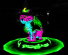 Neon Tiger Witch Cat 1