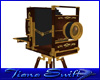 Antique Camera on Stand