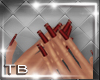 [TB] Cranberry Nails
