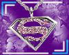 SuperGirl Pendant