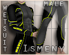 [Is] Surfer Wetsuit Lime
