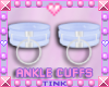 Blue Ankle Cuffs