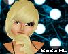 blond and bubblegum curl