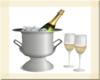 OSP Champagne W/Glasses