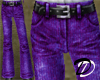 Belted Jeans (purple)