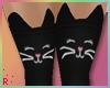 Rach*Kitty Socks - Black