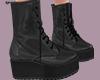 Combat Boots   Grey