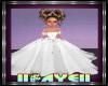 Kid White Princess Dress