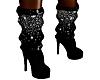 XMAS BOOTS BLACK