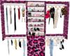 Pink Leopard Closet
