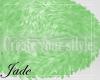 $J Fur Green Rug
