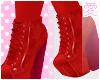 愛 Red Booties