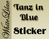 Tanz in Blue