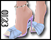 *0123* Bow Anklet Heels