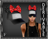Pompoms Bow Cap Mesh M