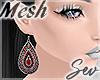 *S Gypsy Earrings